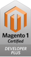 Magento developer plus certified